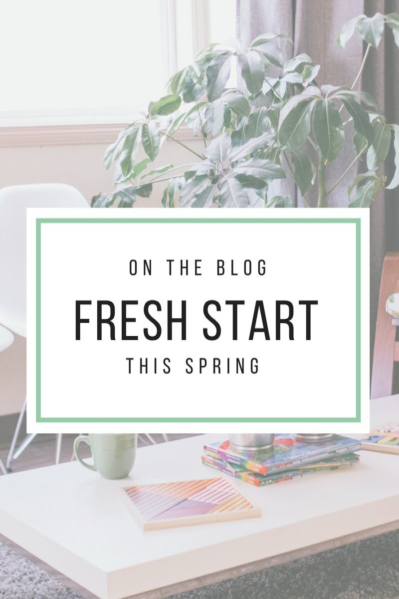 A Fresh Start for Spring